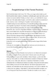 Årsagsforklaringer til Den Franske Revolution | Michelet, Tocqueville & Labrousse