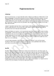 Fuglemenneskerne | Analyse | Kasper Colling Nielsen