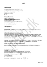 Matematik Noter | 35 Sider